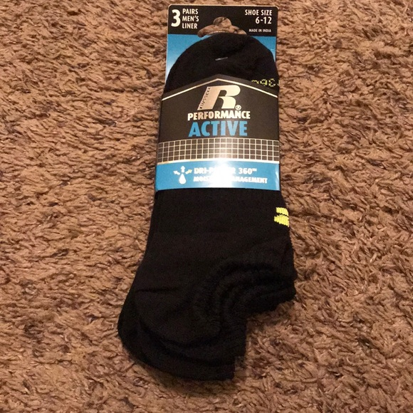 Russell Performance Active Socks NWT